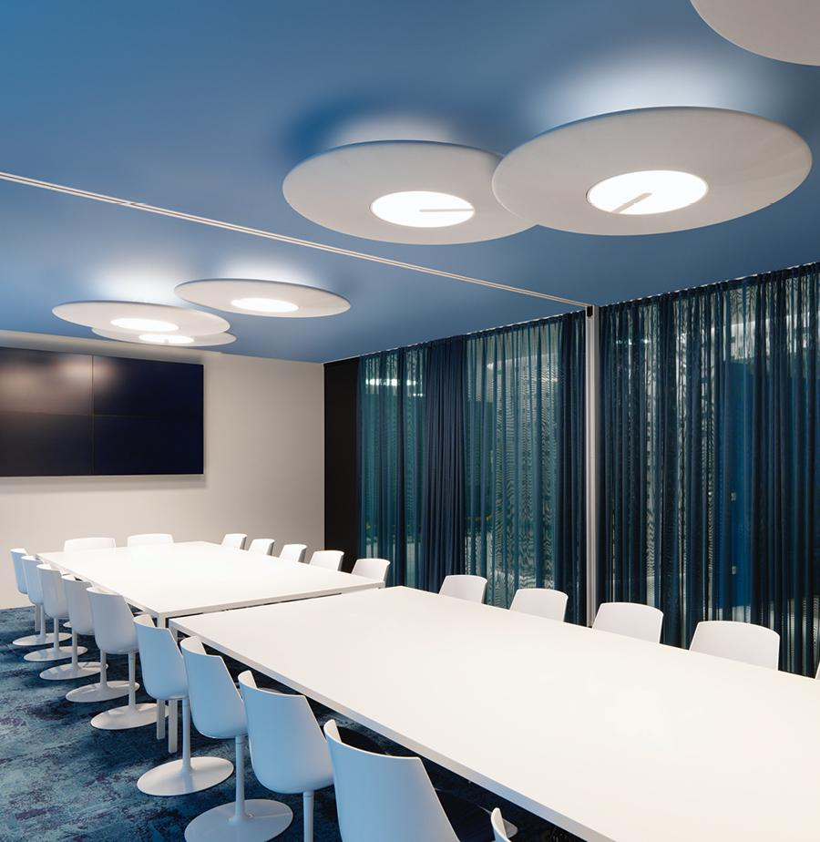 Acoustic lighting – optimal room effect with light acoustic